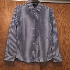 Tommy Hilfiger boys 16-18 long sleeve dress shirt